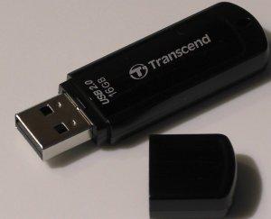 Transcend JetFlash 350 USB 2.0 16GB USB Flash Drive