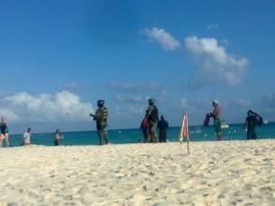 Militaire Playa del Carmen