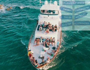 super yacht rental playa del carmen