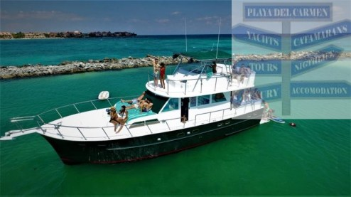 58-ft yacht playa del carmen
