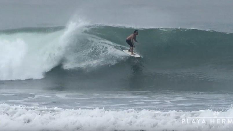 Surfing at Playa Hermosa, Costa Rica October 01 & 02, 2019