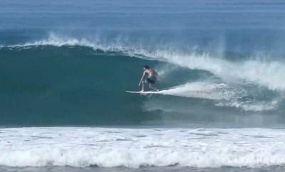 Surfing at Playa Hermosa, Costa Rica February 7, 2020