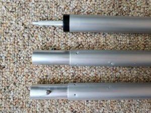 4 or 9 square adjustable pole