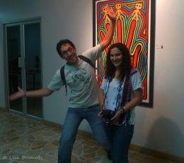 Oh, to be happy! Museo Bahia de Caraquez, Ecuador