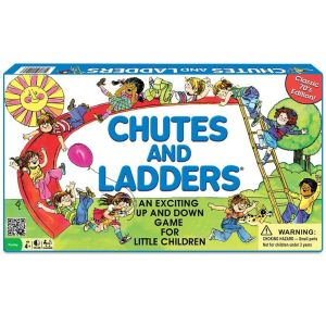 Chutes and Ladders by Milton Bradley