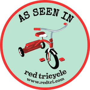 RedTricycle AS SEEN IN Badge