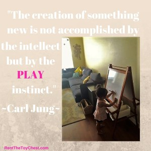 Play Instinct & easel rental
