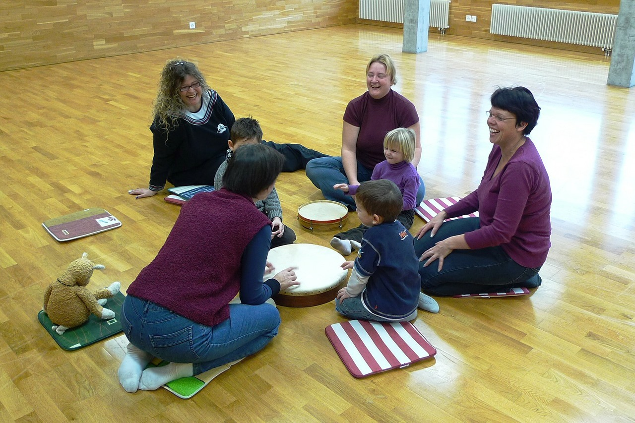 Mom & Child Music class