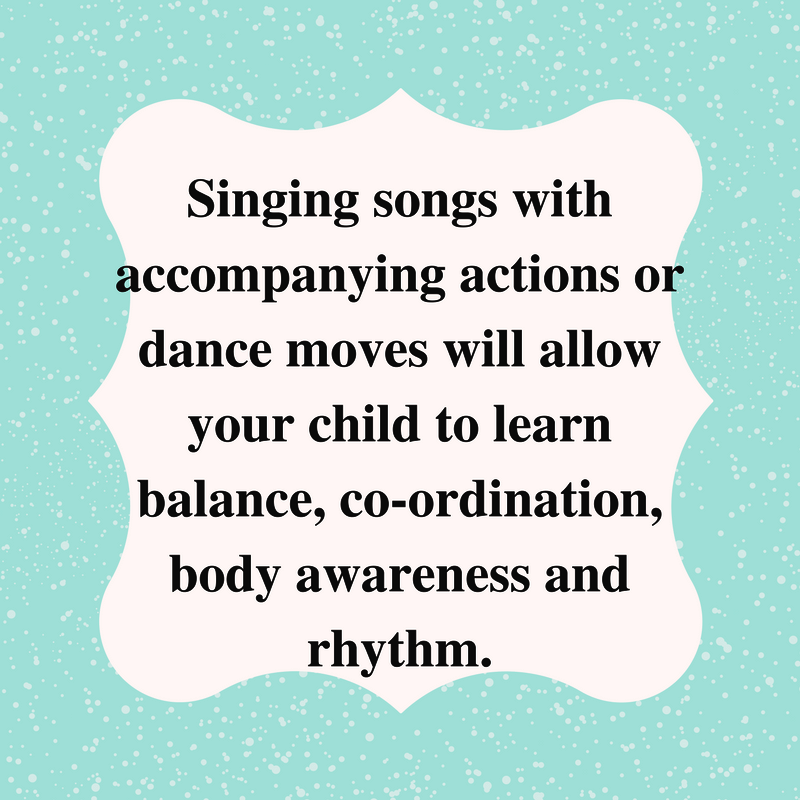 Singing plus dance improves body awareness