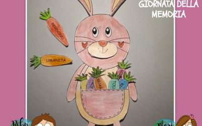 Giornata della Memoria per bambini: un coniglio rosa