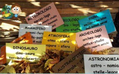 Dal Greco e dal Latino: nuove parole sul comodino