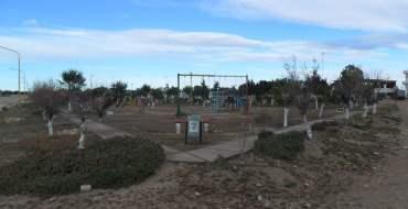 obras en plaza de Playas Doradas