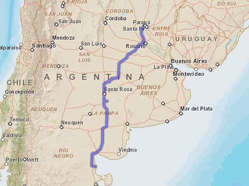 Como llegar a Playas Doradas desde Paraná