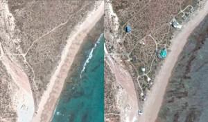 Antes y despues, mansion en Playas Doradas