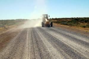 vialidad acondicional a ruta n 5 entre sierra grande y playas doradas