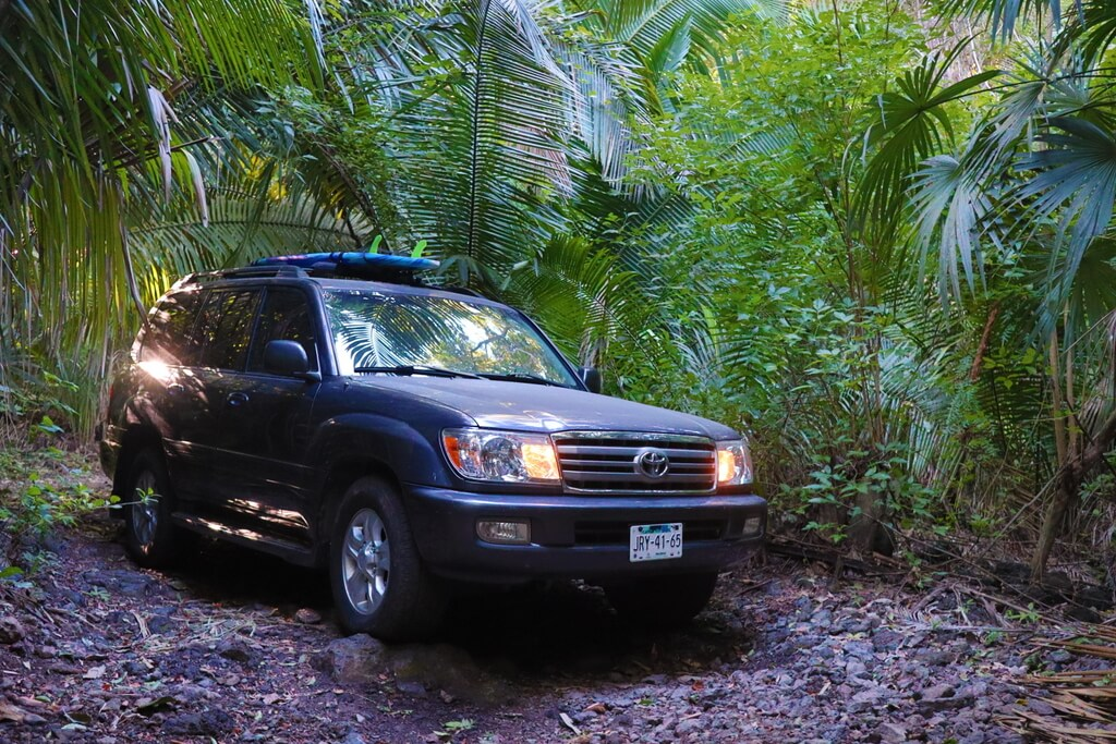 Buying a car in Mexico so you can go four wheeling in the jungle