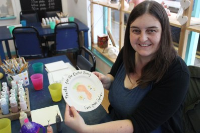The Creative Cafe, Narberth -finished plate