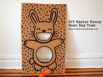 1 DIY Easter Bunny Bean Bag Toss