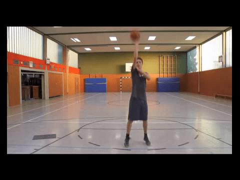 037 Basics – Standwurf mit Schulterhalten