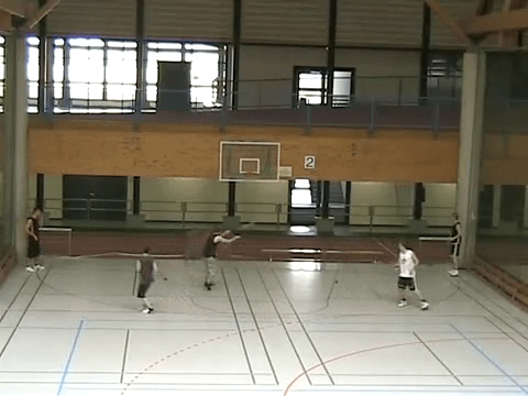 057 Drills – 255 See the court drill