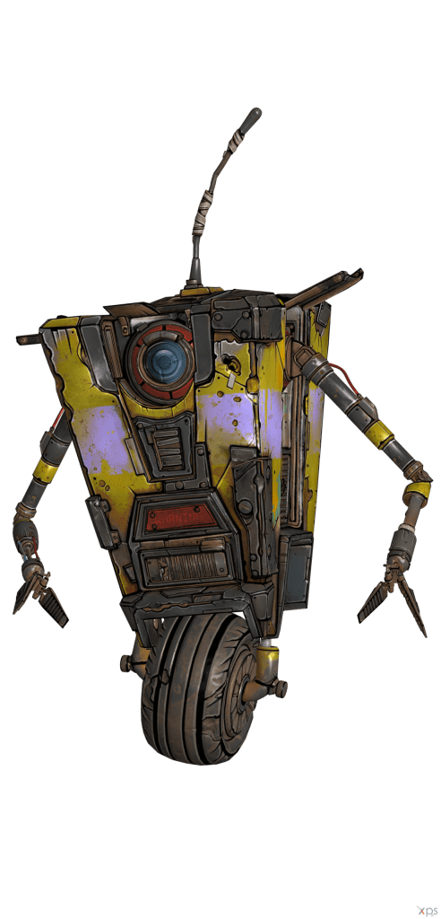 Claptrap png borderlands