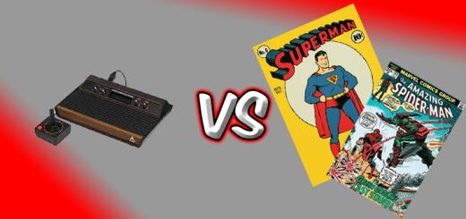 2600 console vs Comics