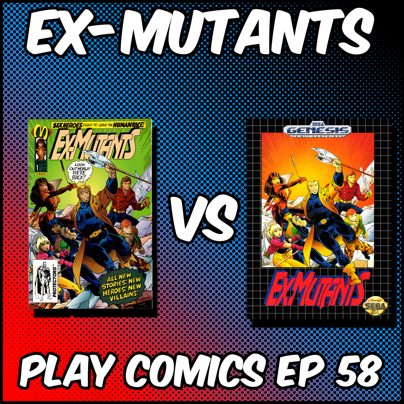 Ex-Mutants with Karrington Martin (Real Dudes Podcast)