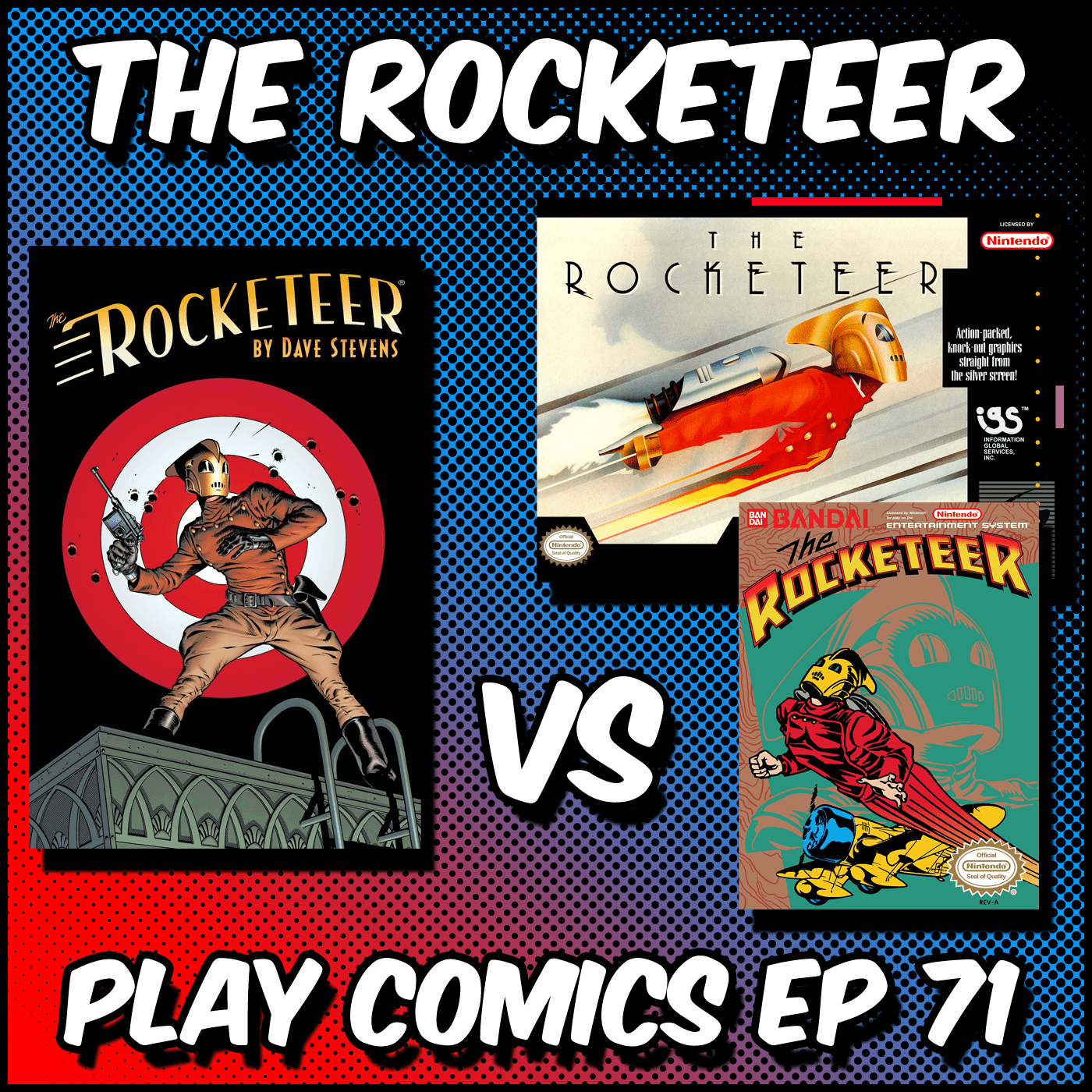 The Rocketeer with Derek Graziano (Rolling Misadventures)