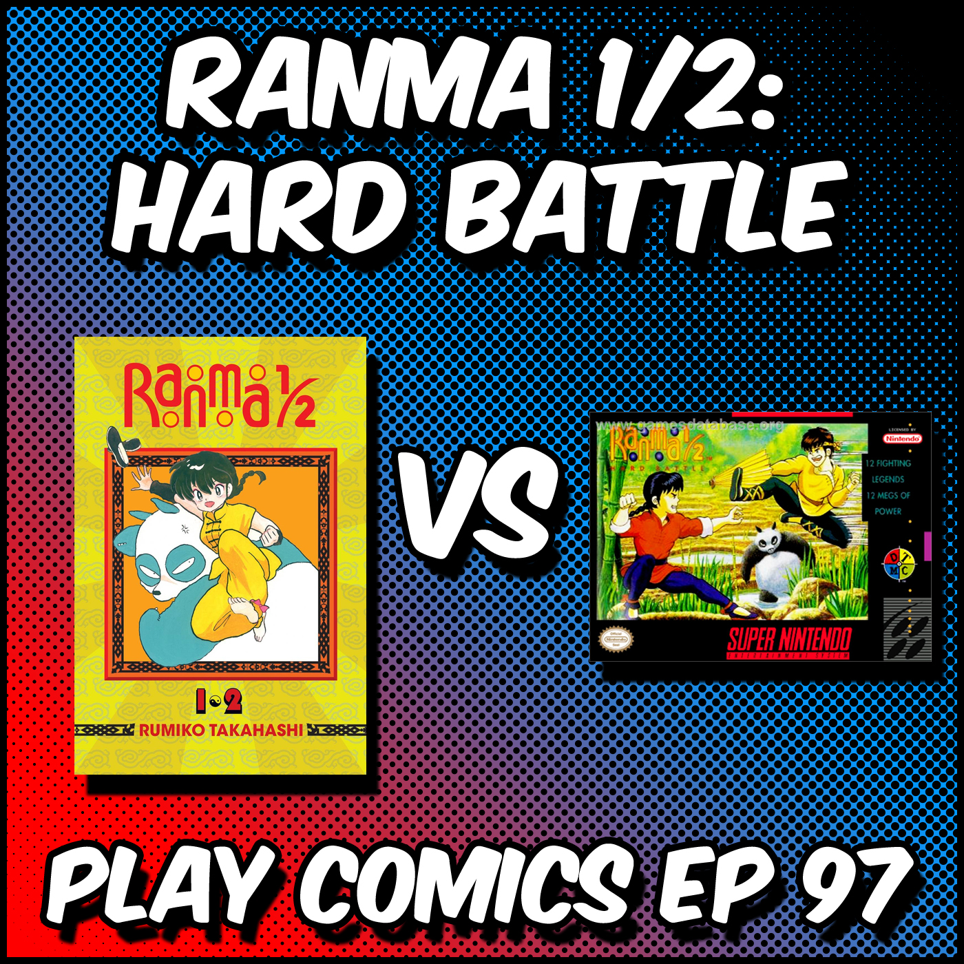 Ranma 1/2: Hard Battle with Steampunk Link (SNEScapades)