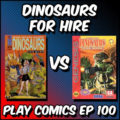 Dinosaurs for Hire episode cover art