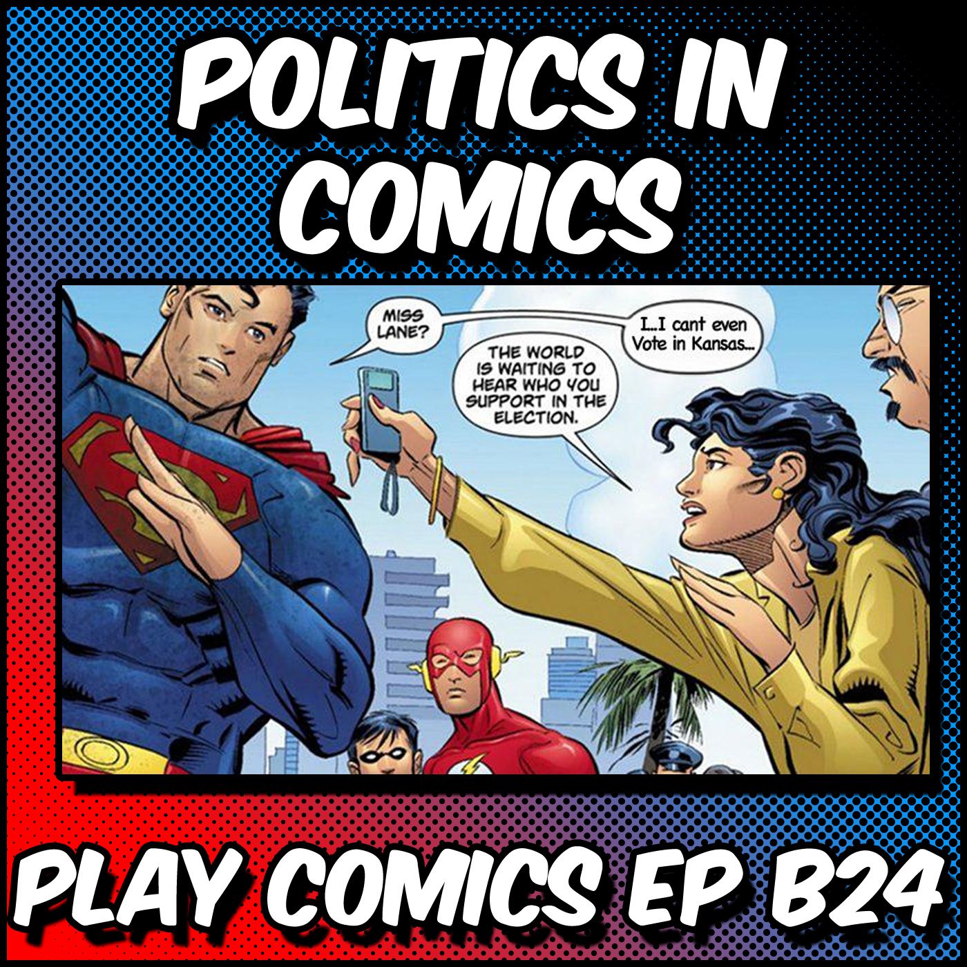 Politics in Comics with Reed Puc, Kamijace, and Adam Williamson