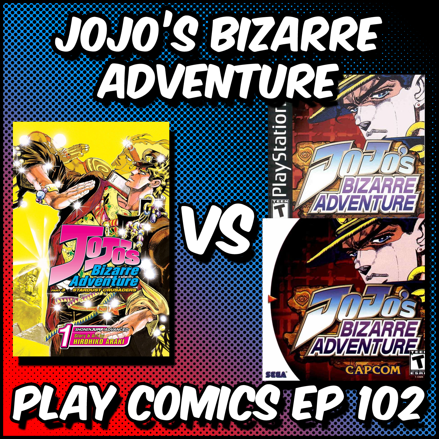 Jojo's Bizarre Adventure with David Weinberger (Shonen Flop)