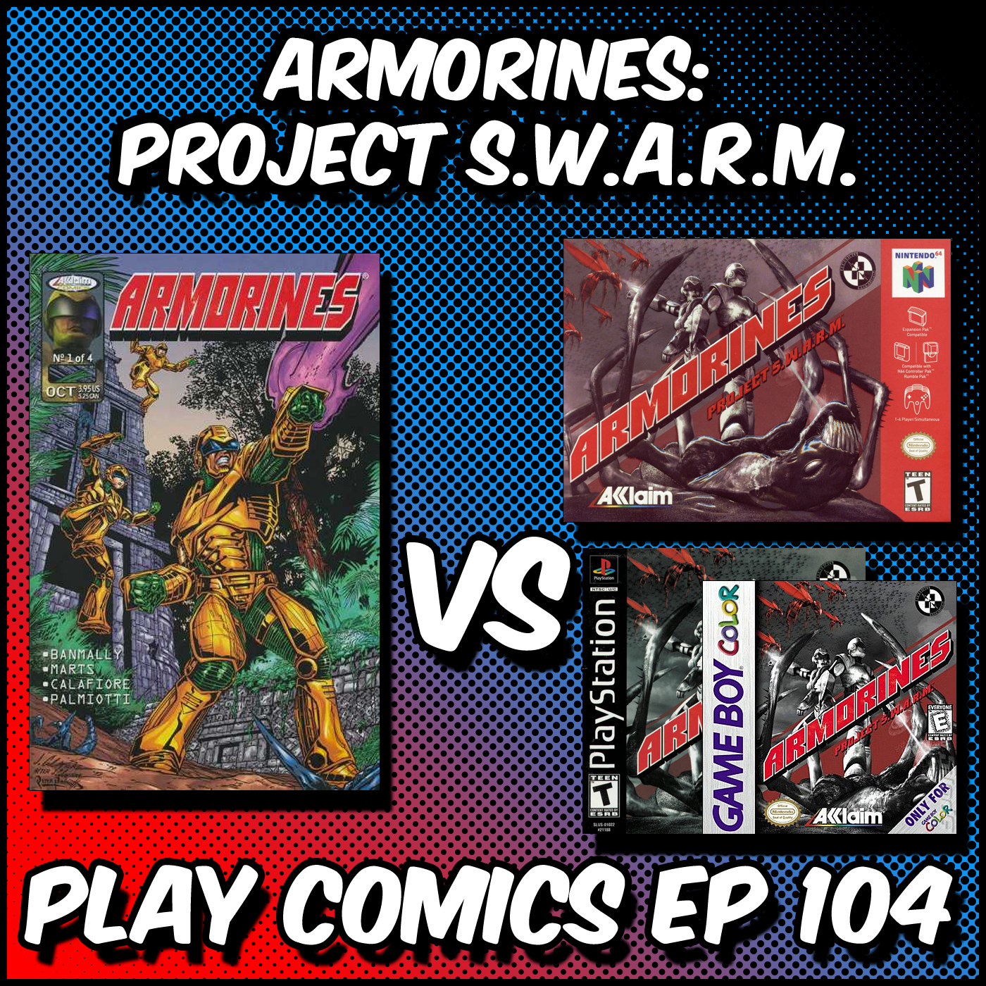 Armorines Project SWARM with Luke Herr (Multiversal Q/RPG Pals Club/Established Property Playhouse)