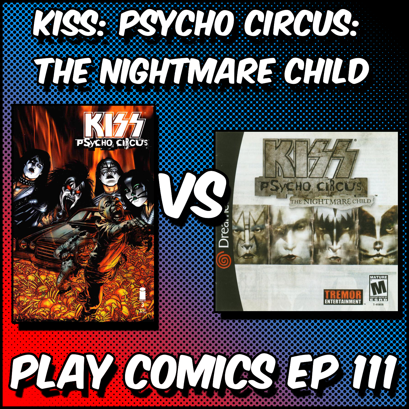 Kiss: Psycho Circus: The Nightmare Child with Scarlett O'Dell (Gatecrashers)