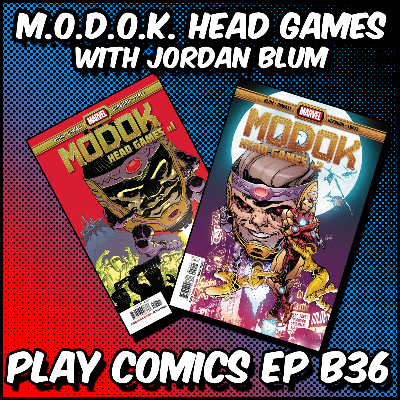 M.O.D.O.K. Head Games with Jordan Blum