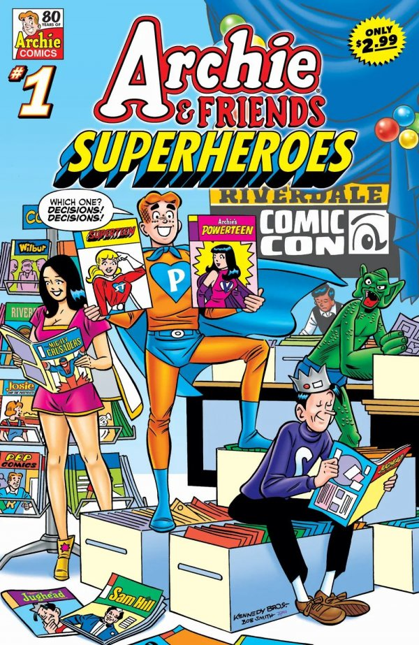 Archie and Friends Super Heroes