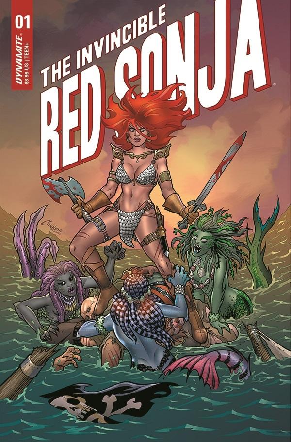 Invincible Red Sonja