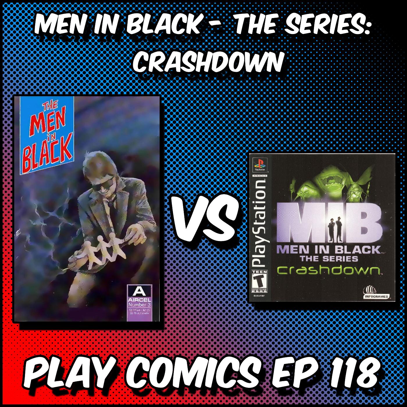 Men in Black Crashdown with Kristian Cabrera (Simping For Senpai)