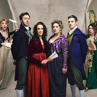 Austentatious Improv Troupe in Regency Dress
