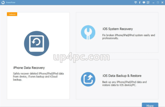 FonePaw iPhone Data Recovery 7.5.0 + Crack