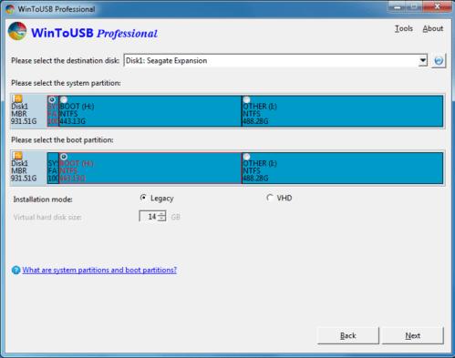 WinToUSB 5.8 Cracked Version