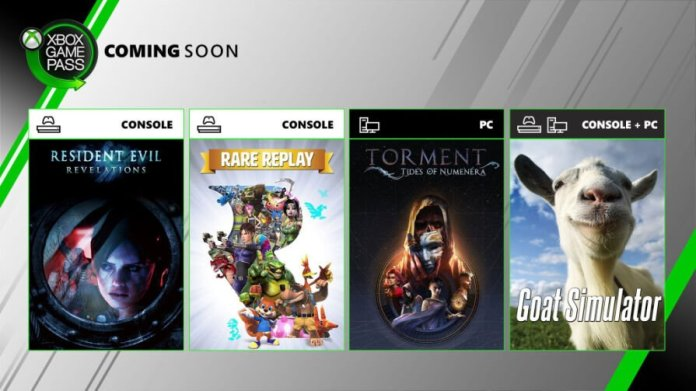 Xbox Game Pass: Rare Replay and Goat Simulator Among the New Free Games of June 2019