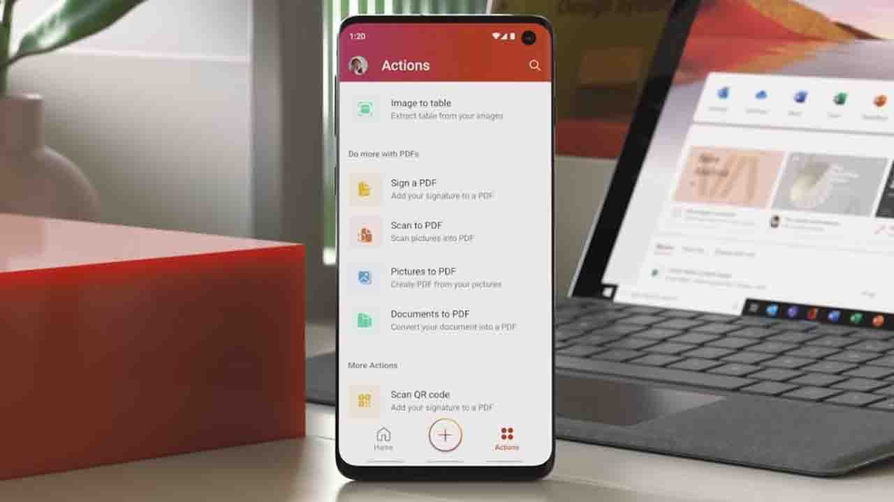 Microsoft's new all-in-one Office app is now available for all Android users