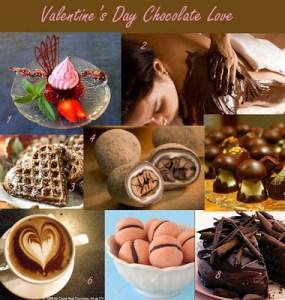 Inspiration Board – Valentine's Chocolate Love