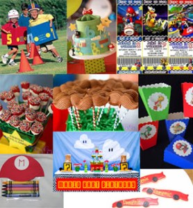 {Inspiration Board} Mario Kart Birthday
