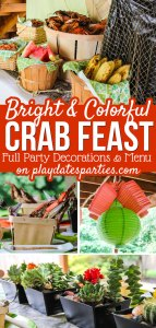 {Real Parties} Birthday and Father's Day Crab Feast