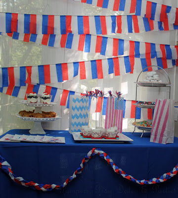 {Real Parties} July 4th Sweet Treats