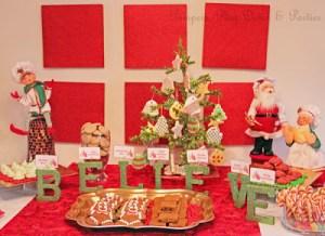 {Real Parties} Christmas Cookies & Milk