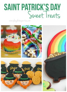 4 Adorably Colorful St. Patrick's Day Sweet Treats