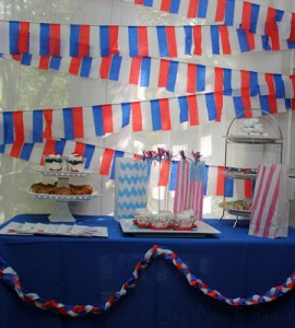 Simple Patriotic Decor